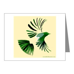 Bird in Flight Note Cards
