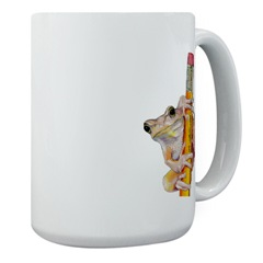Tree Frog Coffee Cup